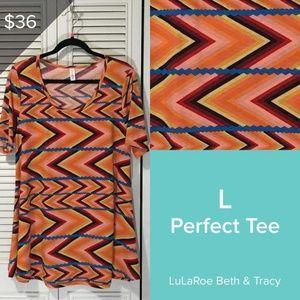 NWT LulaRoe Perfect shirt, L